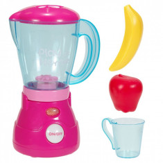 Blender de jucarie cu sunete,lumini si accesorii, 20x20x10 cm, roz