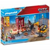 Set de Constructie Excavator Mic - City Action, Playmobil