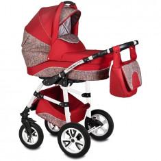 Carucior Flamingo Easy Drive 3in1 Vessanti-Red