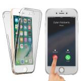 Husa silicon 360 fata spate Iphone 7 8 plus