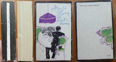 Arnold Zweig , Sosit - a vremea , Tanara femeie din 1914 , 1967 , impecabile foto