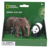 Set 2 figurine - Elefant si Urs Panda PlayLearn Toys