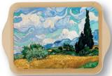 Tava metalica - Van Gogh - Champs avec Cypres | Cartexpo