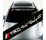 Sticker parasolar auto TRD