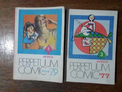 Urzica, Almanah Perpetuum Comic 77 + 79 / R5P4S foto