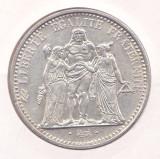 Moneda Franta 10 Franci 1966 (Hercule) - KM#932 aUNC ( argint 0,900 - 25 grame ), Europa