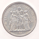 Moneda Franta 10 Franci 1966 (Hercule) - KM#932 aUNC ( argint 0,900 - 25 grame )