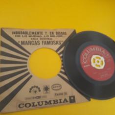 VINIL JAVIER SOLIS /MARIACHI MEXICO DE PEPE VILLA 1968 DISC  COLUMBIA STARE EX