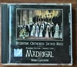 Corul Madrigal - Byzantine Orthodox Sacred Mass (In Concert) (1 CD)