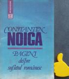 Pagini despre sufletul romanesc Constantin Noica