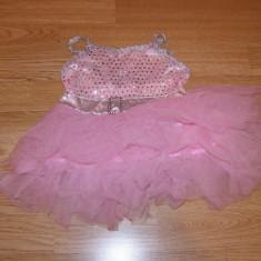 costum carnaval serbare rochie printesa pentru copii de 1-2 ani