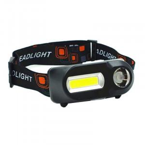 Lanterna de cap KX-1804, 3 setari lumina, incarcare USB