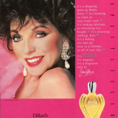 Parfum Spectacular Joan Collins vintage-apa de toaleta dama 100 ml- FRANCE