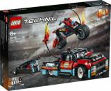 Cumpara ieftin LEGO Technic, Camion si motocicleta pentru cascadorii 42106