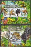 Cumpara ieftin DB1 Fauna Sao Tome Feline Mari din Jungla Tigru Pantera Neagra MS + SS MNH, Nestampilat