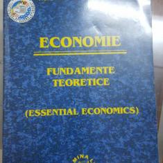 Economie, Fundamente teoretice, Essential economics, București 2004