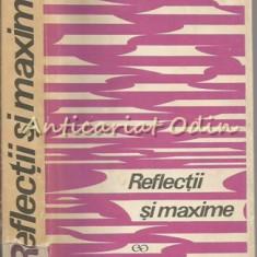 Reflectii Si Maxime - Constantin Badescu