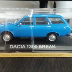 Macheta dacia 1300 break - masini de legenda- dea ro, scara 1/43, noua., 1:43