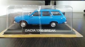 macheta dacia 1300 break deagostini masini de legenda romania - 1/43, noua.