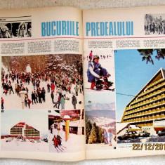 Romania Pitoreasca cu harta Mtii.Calimani - feb. 1986