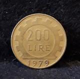 200 Lire 1979 Italia, Europa, Bronz-Aluminiu