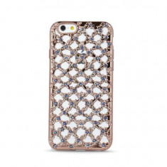 Husa Samsung J3 2016 Flower Diamond RoseGold