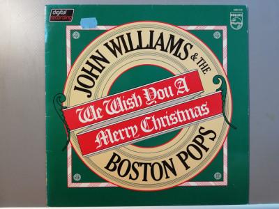 John Williams & ... – We Wish You …(1981/Philips/RFG) - Vinil/Vinyl/ca Nou foto