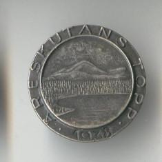 Insigna Turism - statiune Montana - Ski resort - ARESKUTANS TOPP - Suedia 1938
