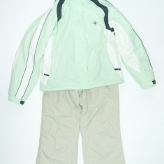 Costum ski—iarna, impermeabil, calduros, usor, ALIVE → fete   11—12 ani   152 cm, Copii