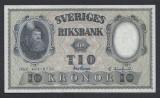 A5146 Sweden Suedia 10 kronor 1959 SEMNATURI DIFERITE UNC