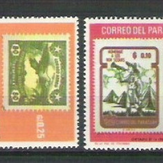Paraguay Sport, stamps in stamps, MNH A.90