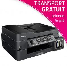 Multifunctionala Brother T910DW InkTank Wireless, A4, afisaj LCD, ADF, Fax foto