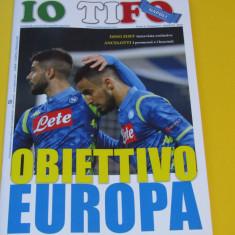 "Revista fotbal - ""IO TIFO NAPOLI"" (SSC NAPOLI - ITALIA) martie 2019"