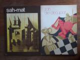 Sah Mat + Sah de decupat - Lot 2 carti tip  joc / R8P5S, Alta editura
