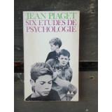SIX ETUDES DE PSYCHOLOGIE - JEAN PIAGET
