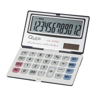 Calculator de buzunar HA-3088S2 Quer, ecran LCD, 12 cifre foto