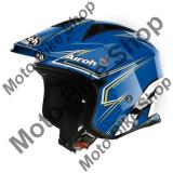 MBS Casca Airoh Trial Smart Blue, albastru, L=59-60, Cod Produs: TRRSM18LAU