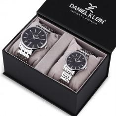 Set ceasuri pentru dama si barbati, Daniel Klein Pair, DK12240-5