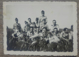 Foto grup cu soldati romani