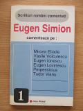 Cumpara ieftin SCRIITORI ROMANI COMENTATI-EUGEN SIMION-R5A