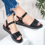 Sandale dama negre Lobasia