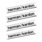 Set 4 Embleme Harman/Kardon metal