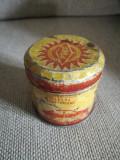 Cutie tablă PECO, cu vaselină, comunism, epoca de aur