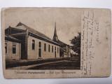 MARAMURES - SCOALA SI BISERICA REFORMATA - ANUL 1914