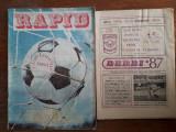 Lot 1 revista Rapid  1982 si Program 87 / R7P5