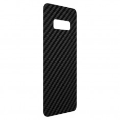 Skin Samsung Galaxy S10, ZAGG InvisibleShield Carbon Feel, 3M, Black