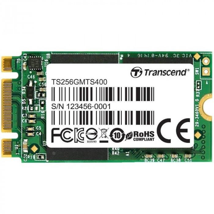 SSD Transcend MTS400 256GB SATA-III M.2 2242