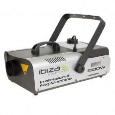 Masina de fum profesionala Ibiza 1500W, telecomanda, DMX