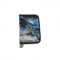 Penar neechipat 1 fermoar 2 extensii Batman albastru-multicolor cu efect 3D BAT04731