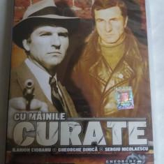 CU MAINILE CURATE - DVD - SERGIU NICOLAESCU, Romana